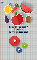 Screenshot of Guess what? Fruits&vegetables