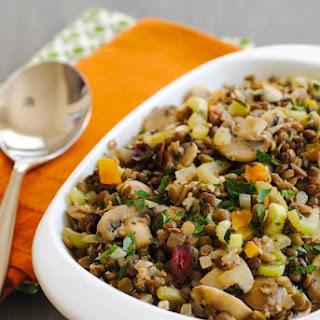 Lentil & Mushroom Stuffing
