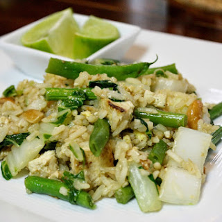 Thai Fried Rice With Tofu
