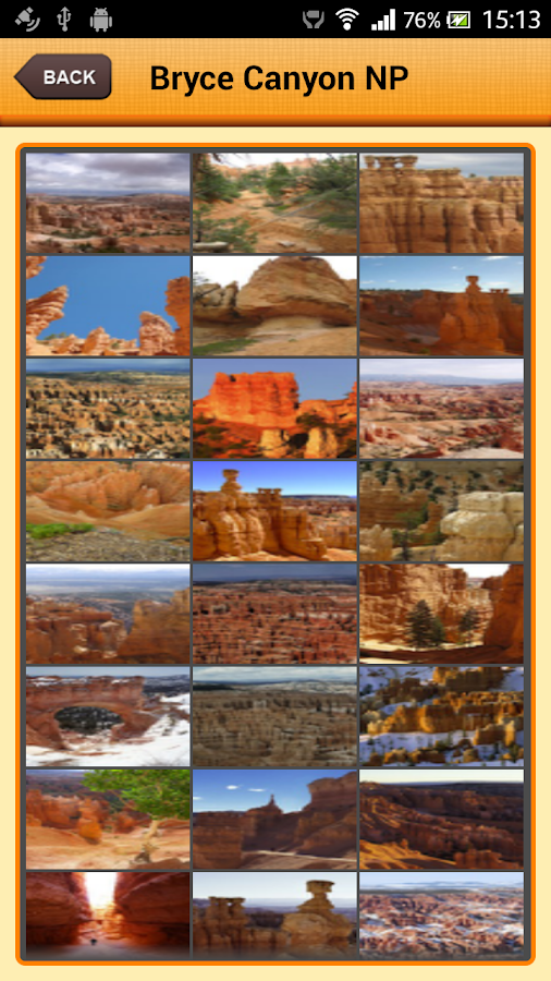 Bryce Canyon National Park- screenshot