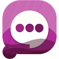 Free Easy SMS PurpleNight theme APK for Windows 8