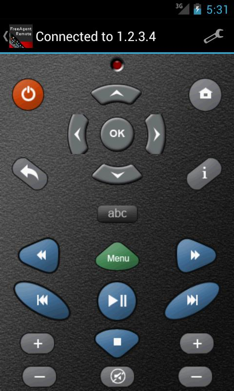 GoFlex TV / Theater+ Remote - screenshot
