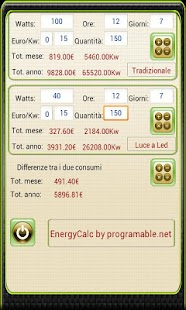 Calcolatrice Energetica- screenshot thumbnail
