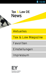 EY Tax & Law DE News - screenshot thumbnail