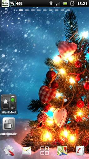 聖誕樹的動態壁紙