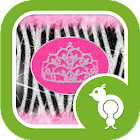 Diva Zebra Go Locker icon