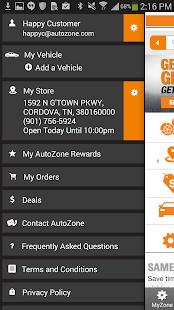 AutoZone - screenshot thumbnail