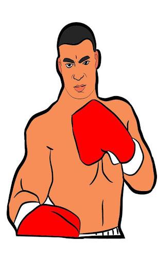 Coloring Robocot Boxing