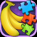 Fruit Jumble! Kids Jigsaw Game icon