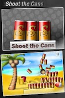 Screenshot of Shoot the Cans