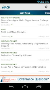 NACD Mobile- screenshot thumbnail