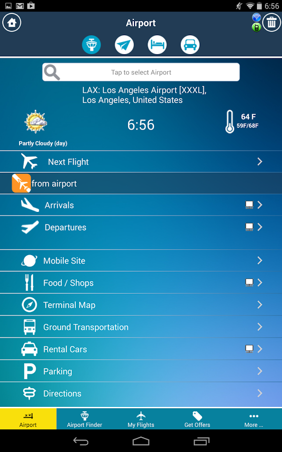 Airport (All) + Flight Tracker - screenshot