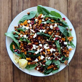 Moroccan Roasted Chickpea Salad.