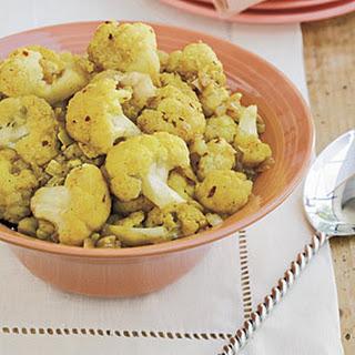 Curried Cauliflower.