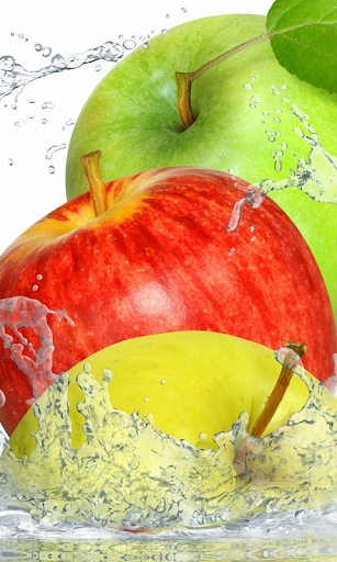 Fruits In Water HD LWP