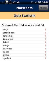 Norstedts svenska quiz- screenshot thumbnail