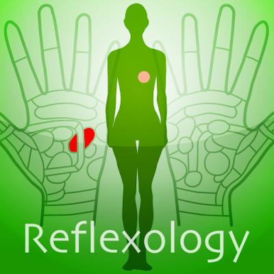 Hand Chart  / for Reflexology