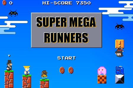 SUPER MEGA RUNNERS 8-Bit Mario 7.1 screenshot 215708