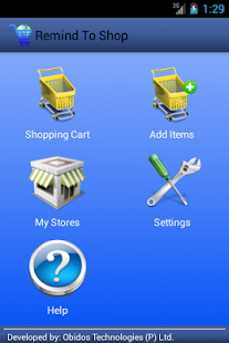 RemindToShop - screenshot thumbnail