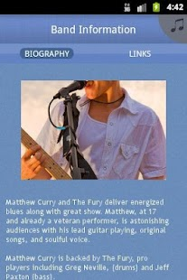 Matthew Curry & The Fury - screenshot thumbnail