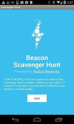 Beacon Scavenger Hunt