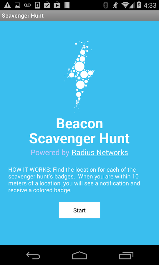 Beacon Scavenger Hunt - screenshot