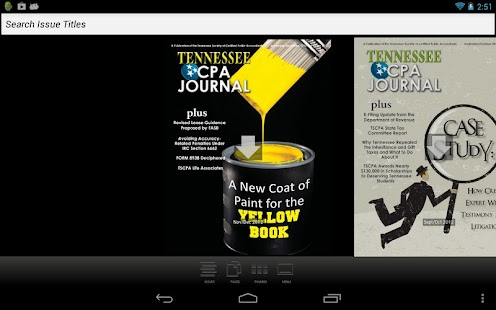 Tennessee CPA Journal - screenshot thumbnail