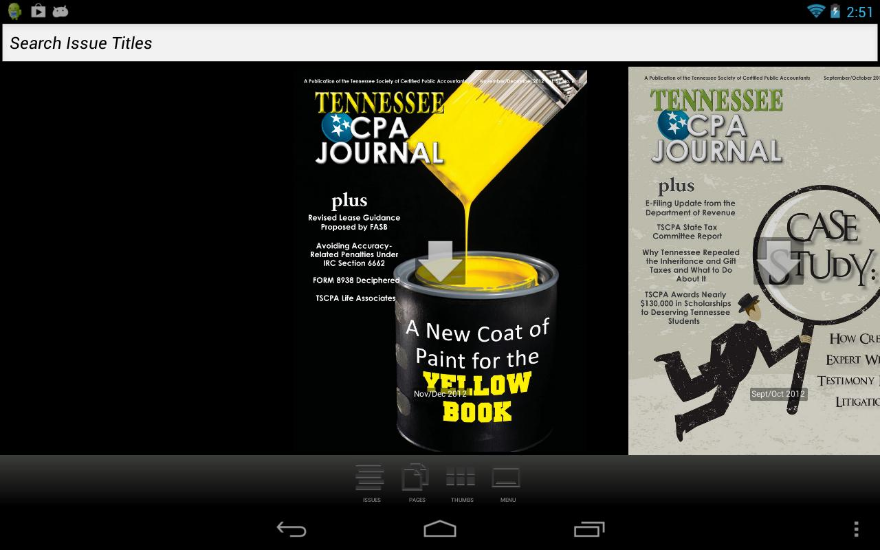 Tennessee CPA Journal - screenshot