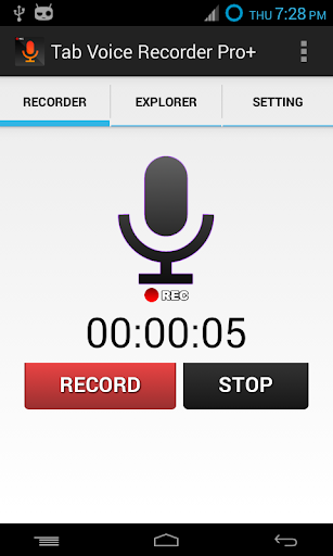 Tab Voice Recorder Pro+