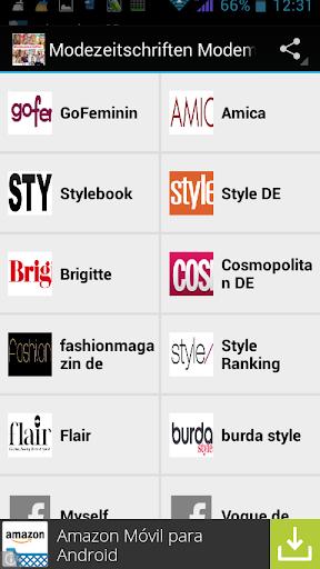 Mode zeitschriften magazine