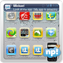 NP iPhone Theme logo