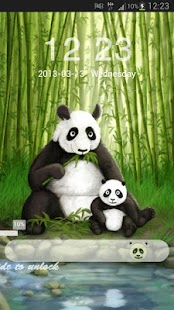 GO Locker Theme Panda- screenshot thumbnail
