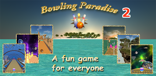 A great bowling game for family and professionals who enjoy amazing environments