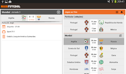 Maisfutebol - screenshot thumbnail