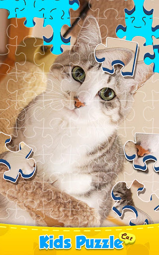 Cat Puzzle - Kids Jigsaw Game