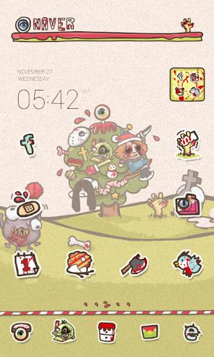 Zombies dodol launcher theme