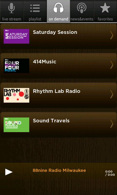 88Nine RadioMilwaukee - screenshot