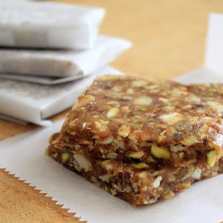 Natural, Wholesome & Simple Date-Nut Bars