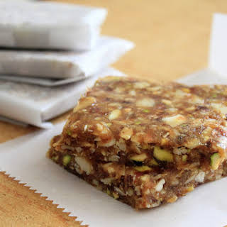 Natural, Wholesome & Simple Date-Nut Bars.