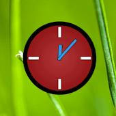 RedBlue Clock