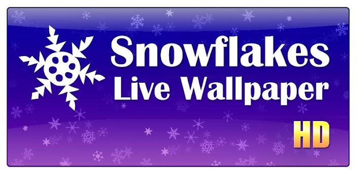Snowflakes Live Wallpaper HD apk