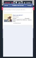Screenshot of Album Quizz : Artist and Song