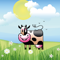 Cow Fly Zlango Live Wallpaper logo