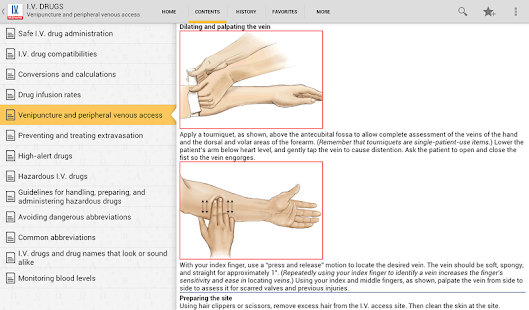 I.V. Drug Handbook - screenshot thumbnail
