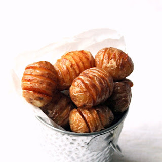 Mini Hasselback Fries