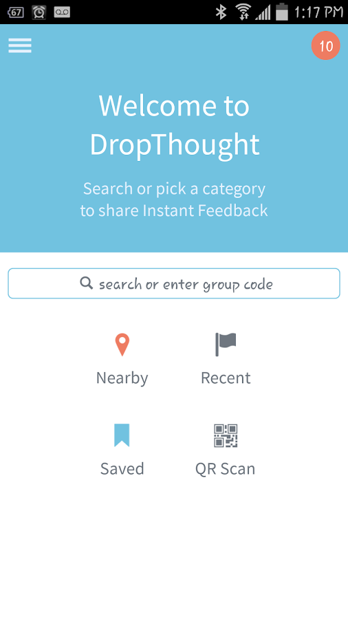 DropThought Instant Feedback - screenshot