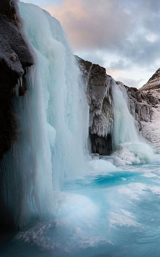Frozen Waterfall Wallpaper Android Apps on Google Play