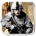 commando attack action game icon