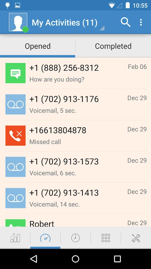 MightyCall Mobile - screenshot