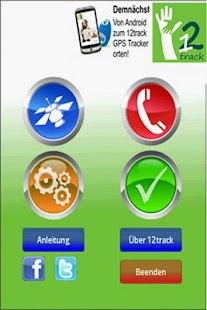 12track GPS Tracking App- screenshot thumbnail